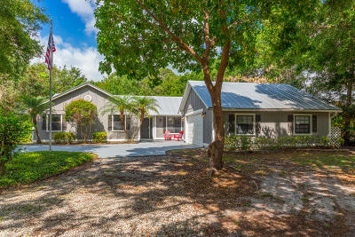 Fort Pierce Single Family Home For Sale: 2925 Yates Road