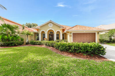 Jupiter Single Family Home Contingent: 1097 Egret Circle