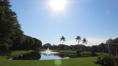 Boynton Beach Single Family Home For Sale: 11210 Golfridge Lane