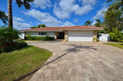 Palm Beach County Single Family Home For Sale: 1701 Cocoanut Road