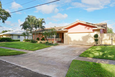 Boca Raton Single Family Home For Sale: 49 SW 10th Drive