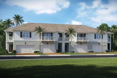 North Palm Beach Townhouse For Sale: 1885 Juno Landing Lane