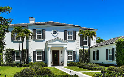 Palm Beach FL Single Family Home For Sale: $9,985,000