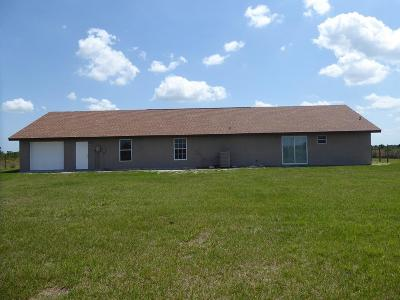 Okeechobee Single Family Home For Sale: 18755 NW 252nd Street