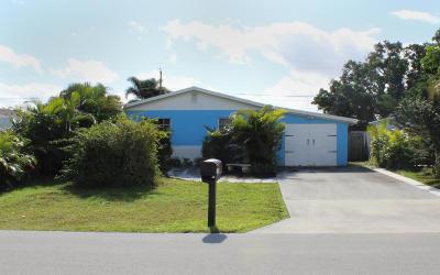 Jupiter Single Family Home For Sale: 1106 Neoga Street