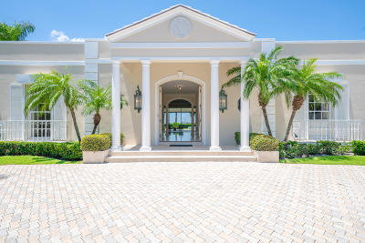 Palm Beach Single Family Home For Sale: 1120 Lake Way