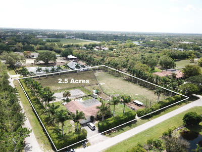 Boca Raton Single Family Home For Sale: 17832 Wagon Wheel Drive