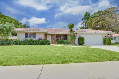 Boca Raton Single Family Home Contingent: 1399 SW 12th Avenue