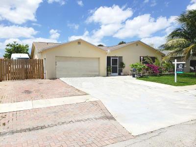 Boca Raton Single Family Home Contingent: 23139 SW 61st Avenue