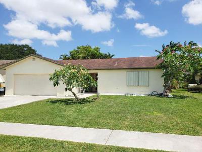 Boca Raton Single Family Home For Sale: 23136 SW 61st Avenue
