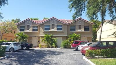 Coral Springs Multi Family Home For Sale: 11571 NW 35th Street #11571-11