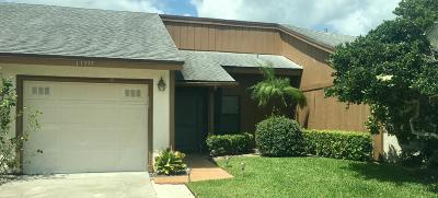 Palm Beach Gardens Townhouse For Sale: 13335 Crosspointe Drive