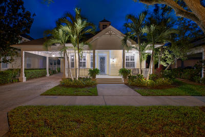 Jupiter Single Family Home For Sale: 150 Sweet Bay Circle