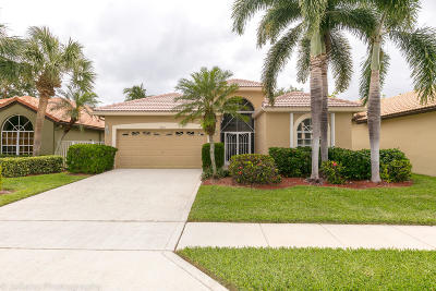 Delray Beach Single Family Home For Sale: 13573 Weyburne Drive