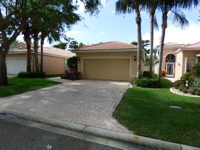 Delray Beach Single Family Home For Sale: 7058 Via Genova