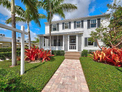 Lake Worth Single Family Home For Sale: 17 S M Street