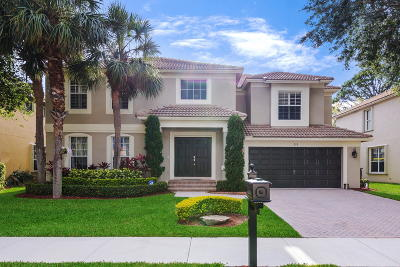 Palm Beach Gardens Single Family Home For Sale: 226 Lone Pine Drive
