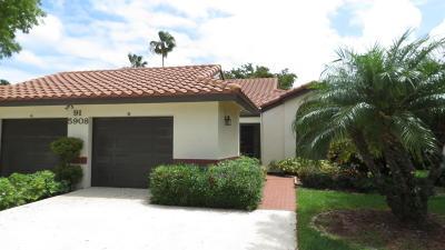 Boynton Beach Single Family Home For Sale: 5908 Sunswept Lane #B