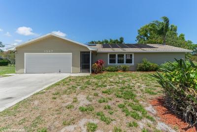 Port Saint Lucie Single Family Home For Sale: 1597 SE Blockton Avenue