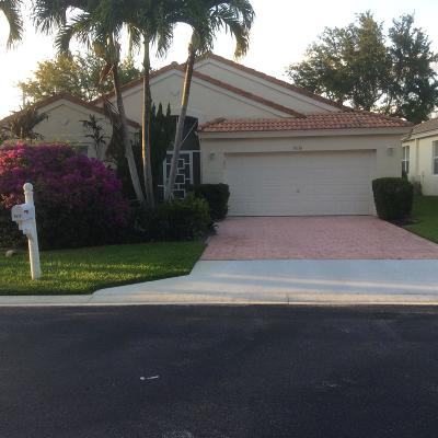 Boynton Beach Single Family Home For Sale: 9636 Arbor View Drive