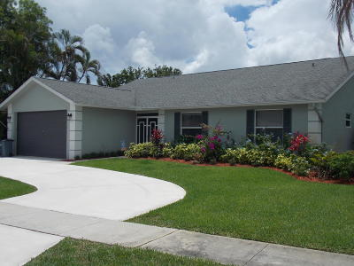 Lake Worth Single Family Home Contingent: 8594 White Egret Way