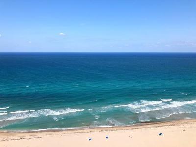 Singer Island Rental For Rent: 3000 Ocean Drive #32-D