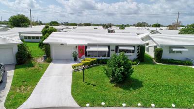 Boynton Beach Single Family Home For Sale: 104 NW 10th Court