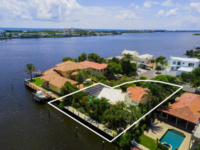 Lake Worth Single Family Home For Sale: 10 Harbor Drive