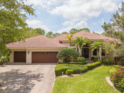 Jupiter Single Family Home Contingent: 18848 SE Old Trail Drive E