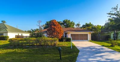 Port Saint Lucie, Saint Lucie West Single Family Home For Sale: 475 SW Ryder Road