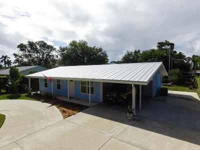 Tequesta Single Family Home For Sale: 450 Tequesta Drive
