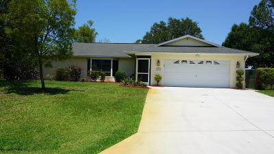 Port Saint Lucie Single Family Home For Sale: 1333 SE Preston Lane