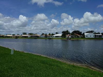 Lake Worth, Lakeworth Single Family Home For Sale: 8463 Lake Point Court
