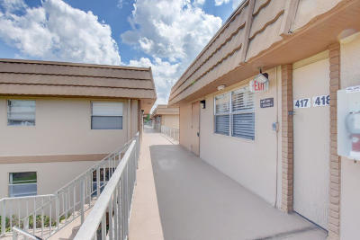 Delray Beach Condo For Sale: 417 Flanders I
