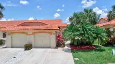 Delray Beach Single Family Home Contingent: 8051 Summer Shores Drive