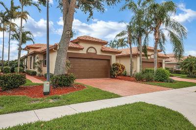 Boynton Beach Single Family Home For Sale: 5666 Emerald Cay Terrace