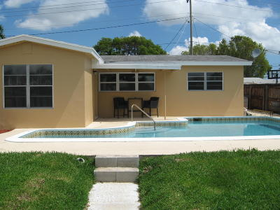 west palm Single Family Home Contingent: 1023 Andrews Road