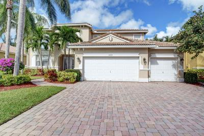 Lake Worth Single Family Home Contingent: 6938 Finamore Circle