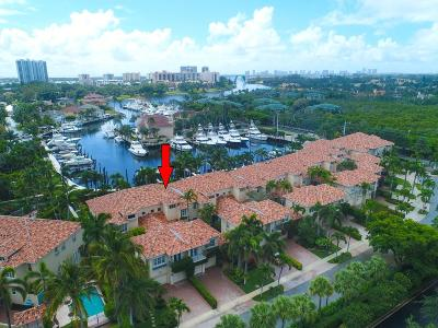 North Palm Beach Townhouse For Sale: 1440 Harbour Point Drive