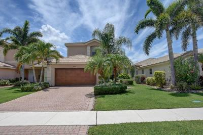 Boynton Beach Single Family Home Contingent: 8878 Kettle Drum Terrace