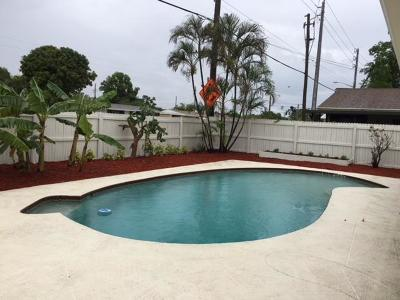 West Palm Beach Single Family Home For Sale: 5118 El Claro Circle