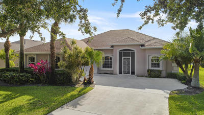 Jensen Beach Single Family Home For Sale: 2691 NW Windemere Drive