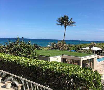 Palm Beach Condo For Sale: 3250 S Ocean Boulevard #210n