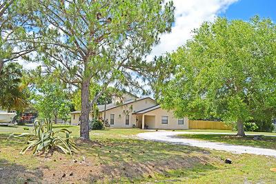 Fort Pierce Single Family Home For Sale: 1815 Cody Lane