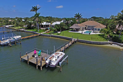 Tequesta Single Family Home Contingent: 71 River Drive