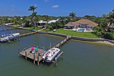 Tequesta FL Single Family Home For Sale: $2,350,000