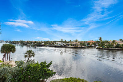 Delray Beach Condo For Sale: 2150 S Ocean Boulevard #7-D