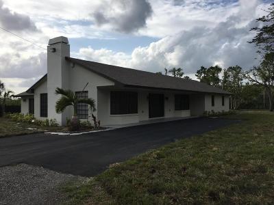 Miami Single Family Home For Sale: 21500 SW 184th Avenue