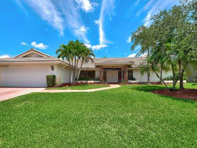 Boca Raton Single Family Home For Sale: 10295 Boca Woods Lane