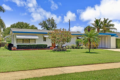 North Palm Beach Single Family Home For Sale: 837 Buttonwood Road